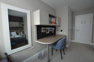 Modern fitted desk