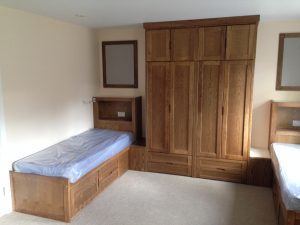 Large Wardrobe Storage Area for Dormitory
