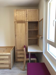 Fitted Furniture with desk